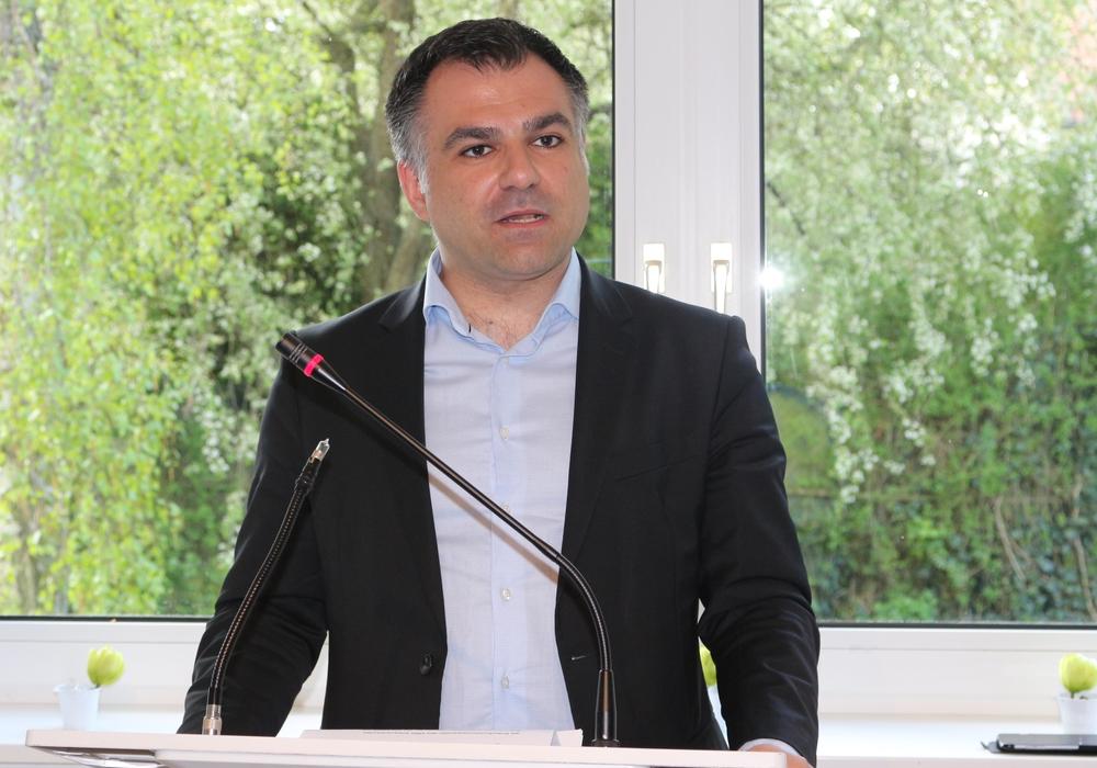 Dr. Christos Pantazis,  stellvertretenden Vorsitzende und Sprecher für Bundes- und Europaangelegenheiten sowie Regionale Entwicklung der SPD-Landtagsfraktion. Foto: Anke Donner