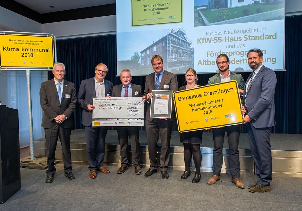 20.000 Euro Preisgeld für Cremlingen. Foto: Ulrich Pucknat