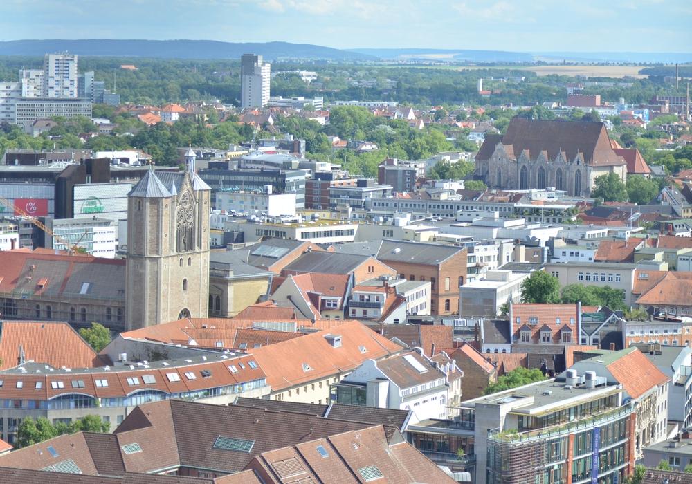 Braunschweig von oben. Fotos: Sandra Zecchino