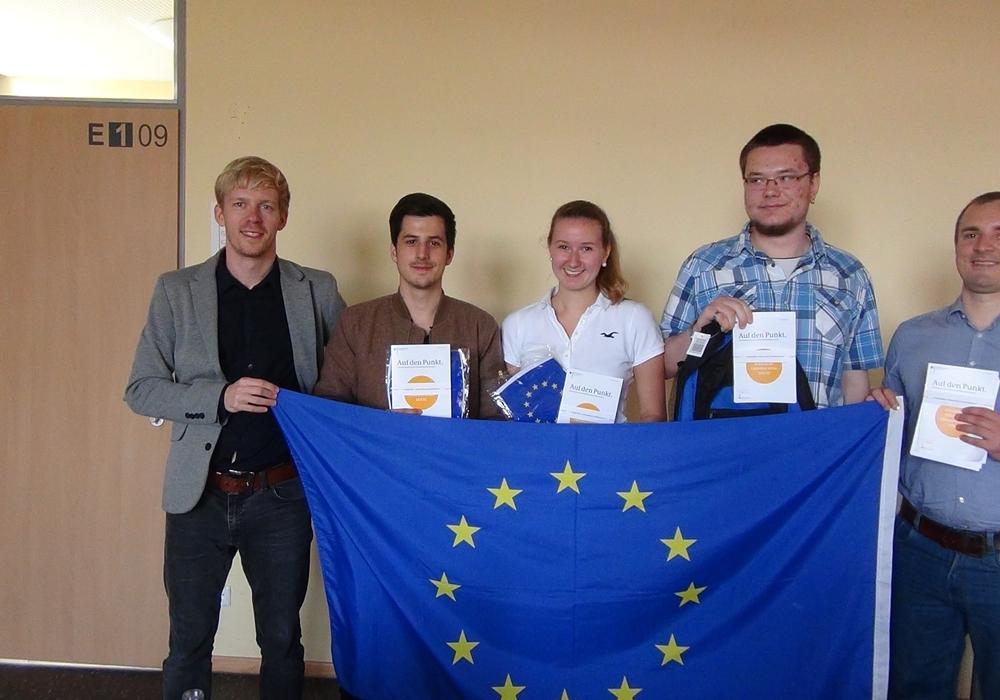 Otto-Bennemann-Schule informiert sich über EU. Foto: Privat