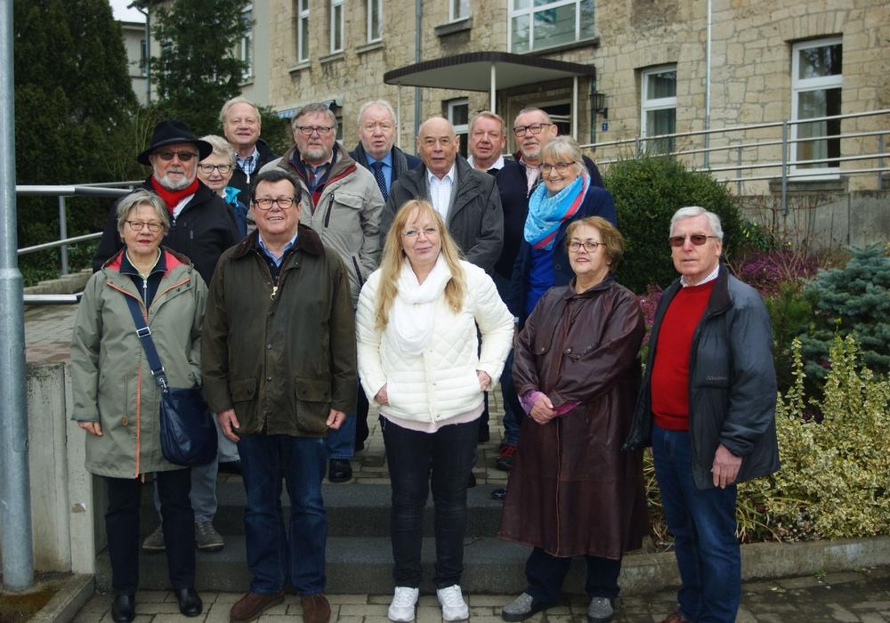 Der Vorstand der SPD- Bezirks-AG 60 plus besuchte die Evangelische Stiftung Neuerkerode. Foto: SPD