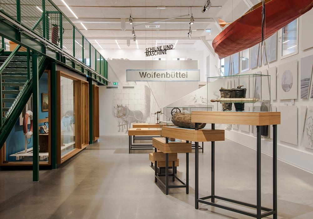 Blick in die Dauerausstellung des Bürger Museums. Foto: gewerkdesign/H. Humml