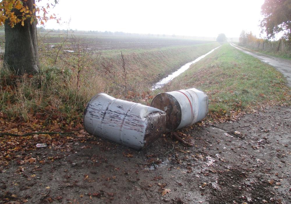 Umweltdelikt Meinersen. Foto: Polizei