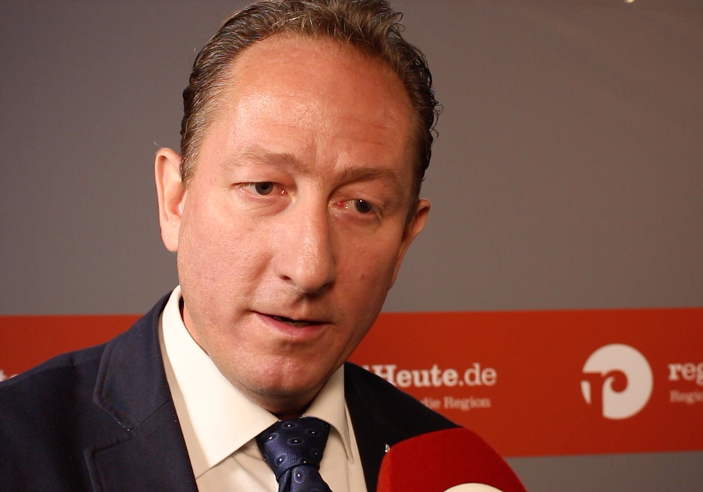 Ralph Bogisch von der CDU ist einer Meinung mit den Grünen.