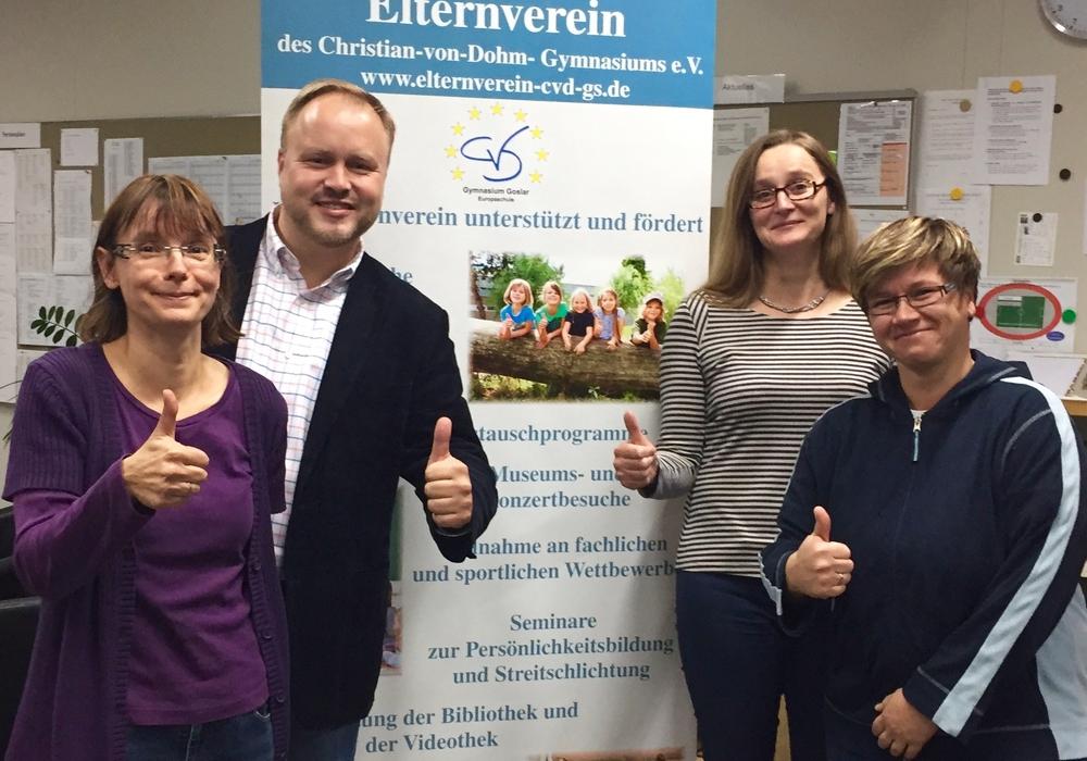 Foto (von links): Heidi Kopetzki, Sascha Göritz, Sandy Feye, Tanja Arth-Bokemüller, Foto: Privat