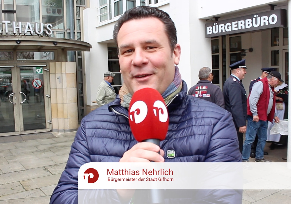 Auch Bürgermeister Nehrlich machte beim Stadtradeln mit. Foto: Sandra Zecchino