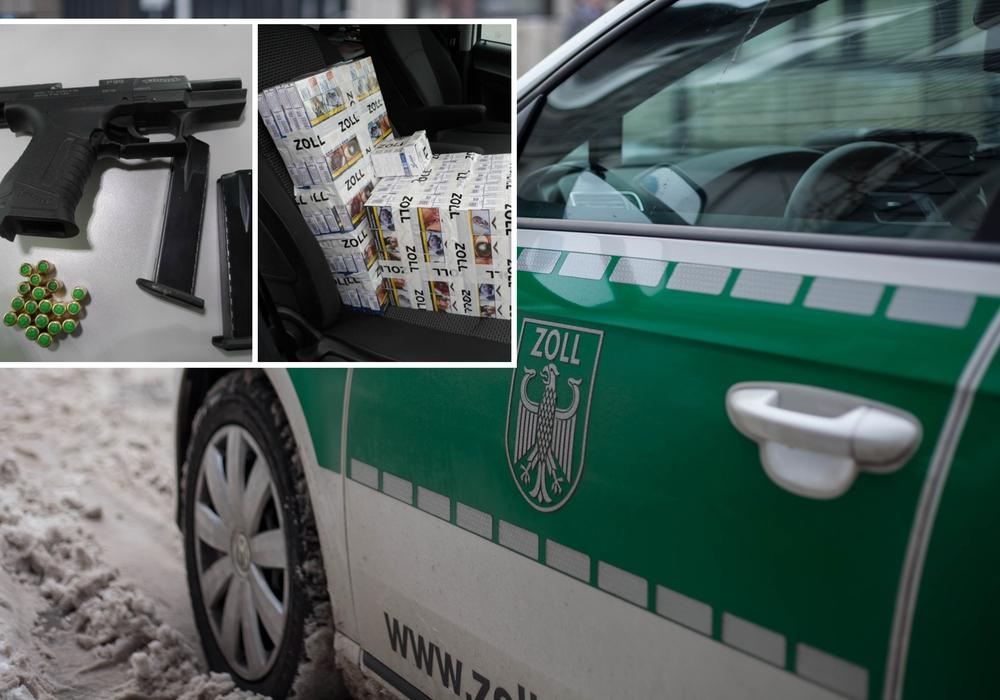Die weiteren Ermittlungen hat das Zollfahndungsamt Hannover übernommen. Fotos: Hauptzollamt Braunschweig