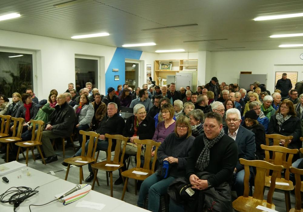Ende Februar hatten CDU und BIBS zu einer Informationsveranstaltung nach Geitelde eingeladen. Foto: Alexander Panknin