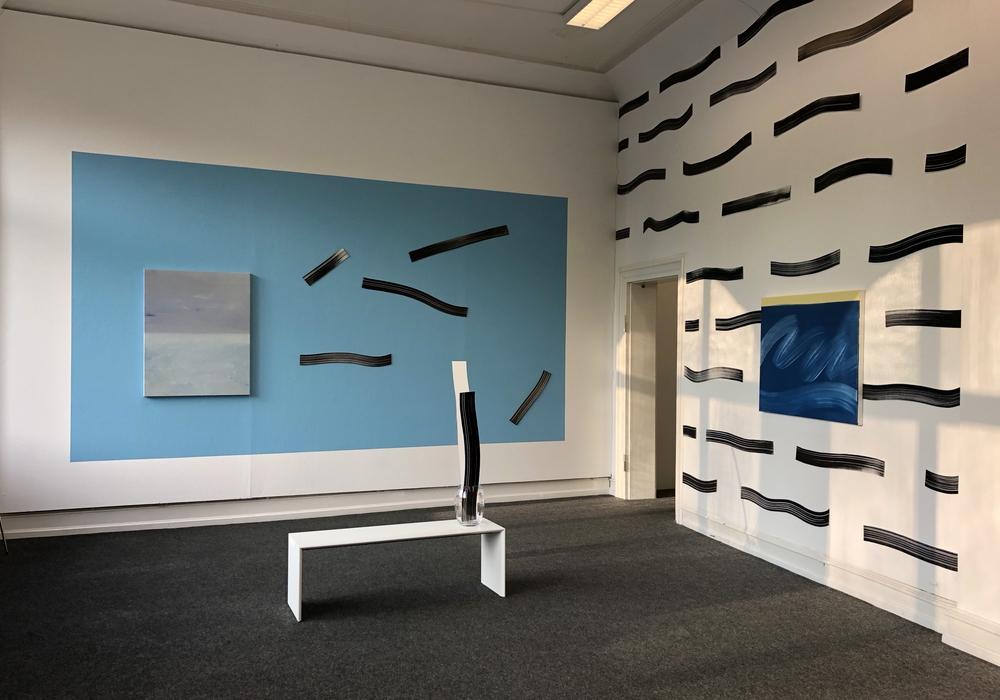 """Die Ausstellung von Hanni Wurm """"WOW SO NICE RELFECTION"""" im Kunstverein Wolfenbüttel. Foto: Kunstverein Wolfenbüttel"""