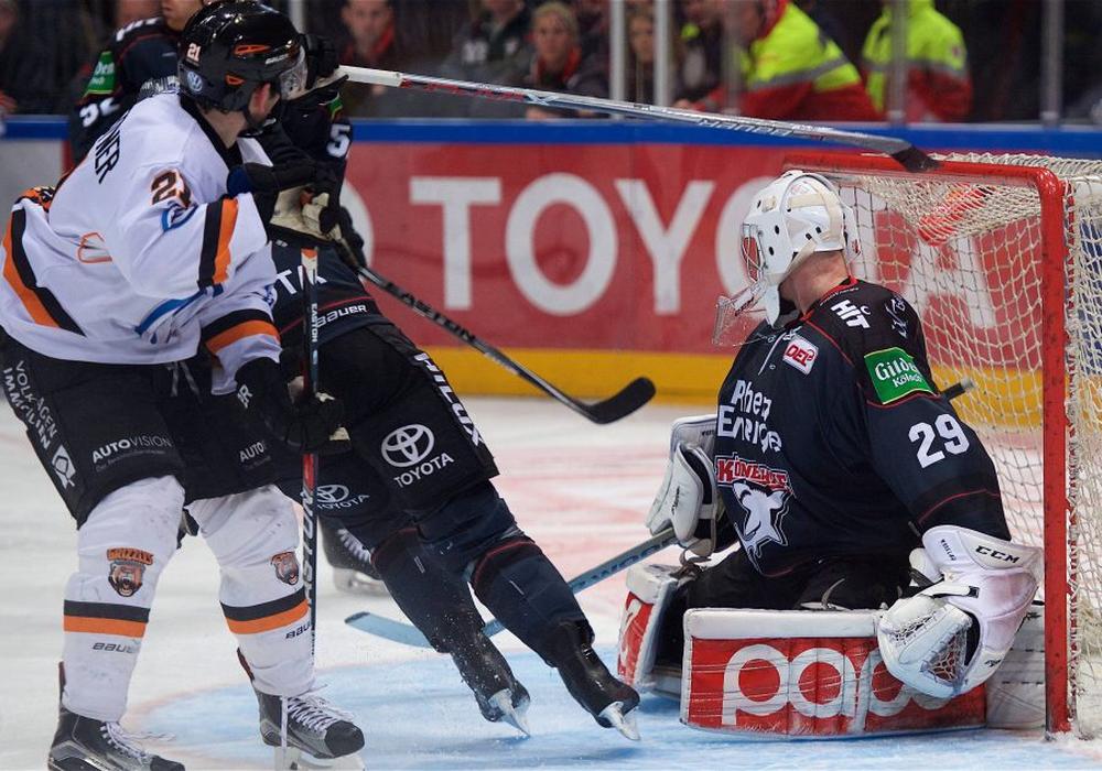 Christoph Höhenleitner schießt das einzige Tor in diesem Spiel. Foto: Imago/Beautiful Sports