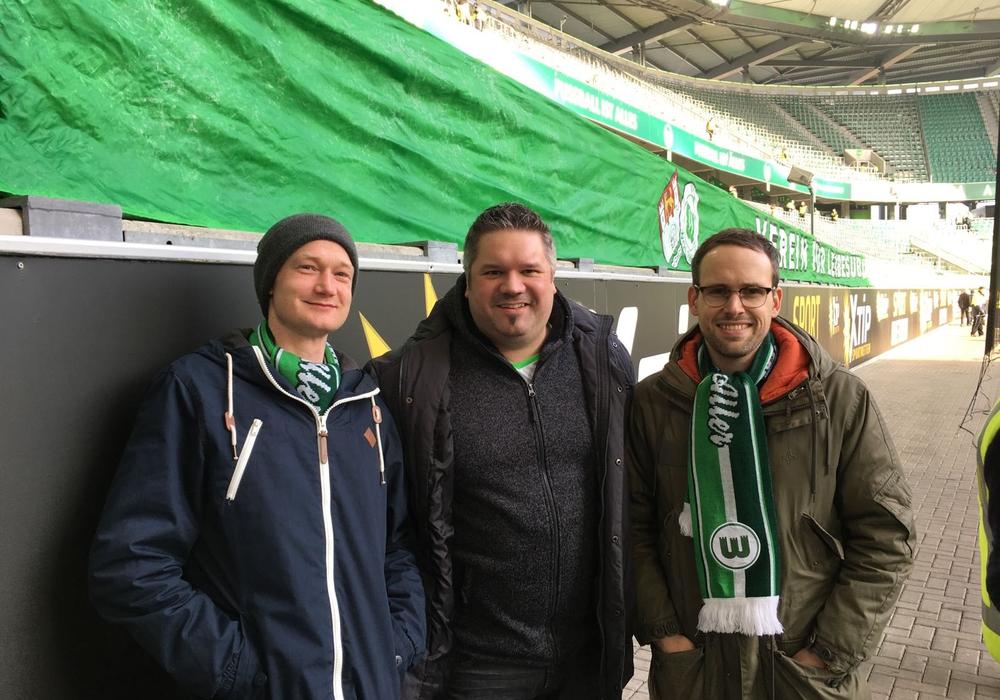 Die drei Initiatoren des Filmprojekts (v.l.): Chris Krüger, Lars Vollmering und David Bebnowski. Foto: Privat.