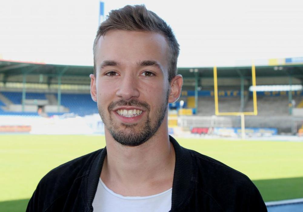 Trainiert heut schon mit der Mannschaft: David Sauerland. Foto: Eintracht Braunschweig