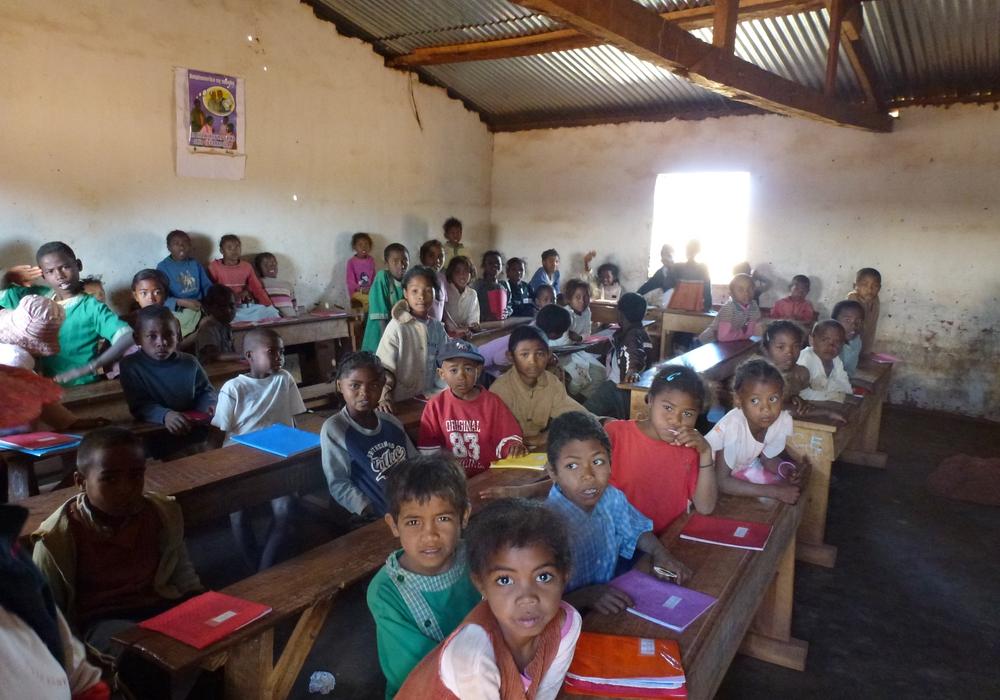 Schüler in einem Klassenraum der Grundschule. Foto: Privat