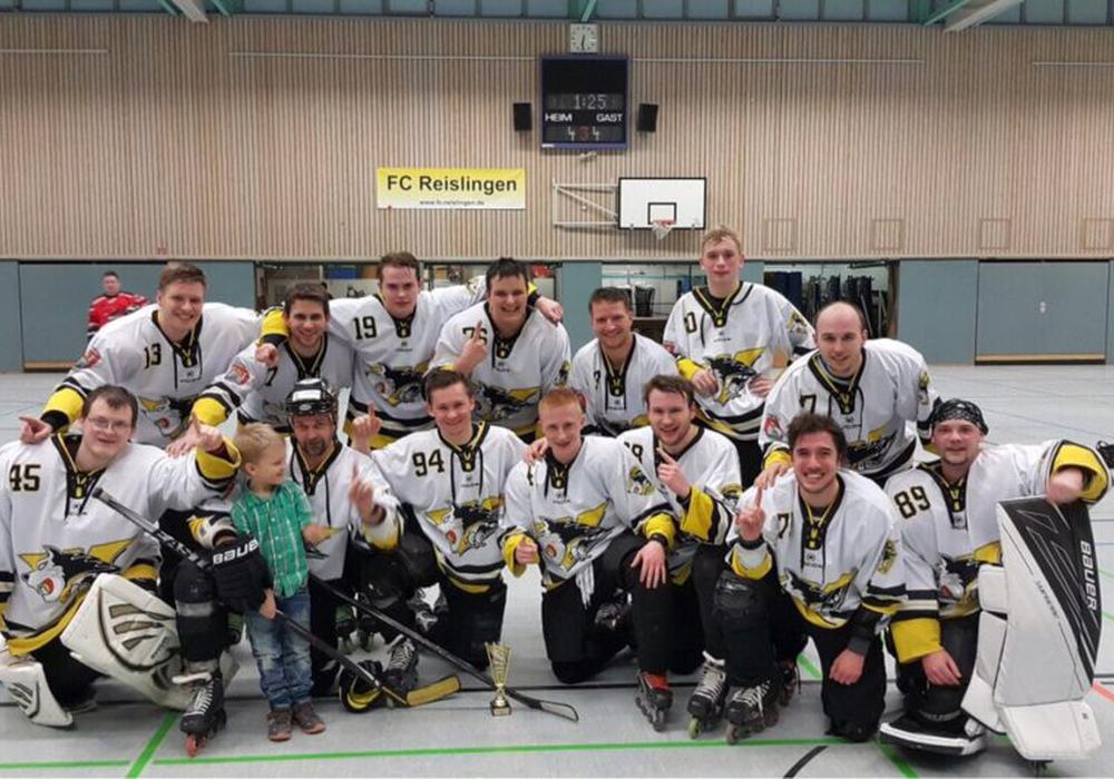 Das Wolfsliner Inlinehockey-Team. Foto: Verein