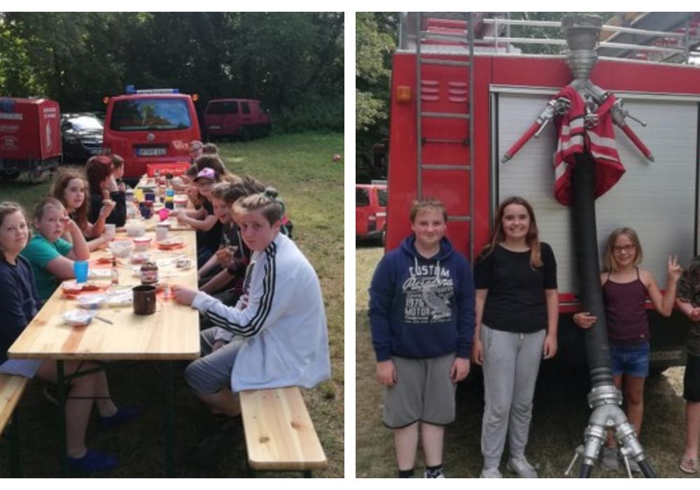 Fotos: Feuerwehr Hornburg