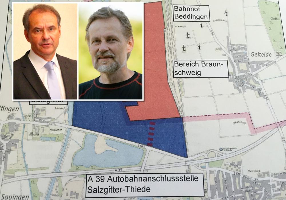 Nachdem BIBS-Ratsherr Peter Rosenbaum mögliche Vorverhandlungen zwischen Stadt und Bund ansprach, wies Oberbürgermeister Markurth dies deutlich zurück. Foto: BIBS/Stadtbraunschweig/Archiv