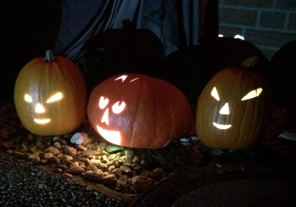 Halloween wurde in Wolfenbüttel friedlich gefeiert. Foto: Anke Donner