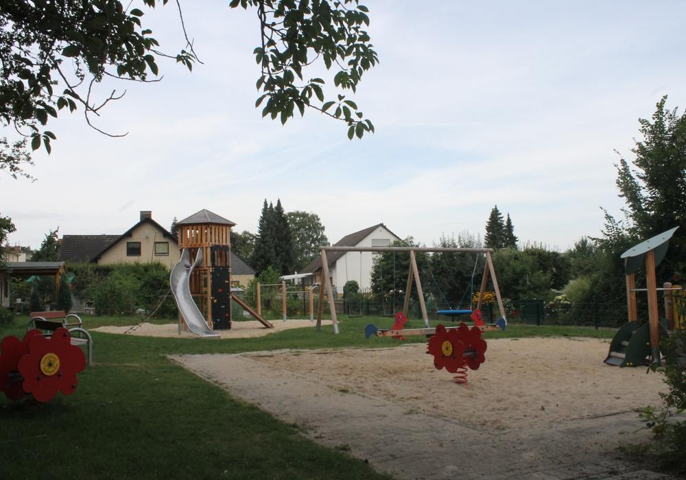 Auf dem neuen Spielplatz Weiße Schanze findet am Samstag ein Kinderfest statt. Foto: Stadt Wolfenbüttel