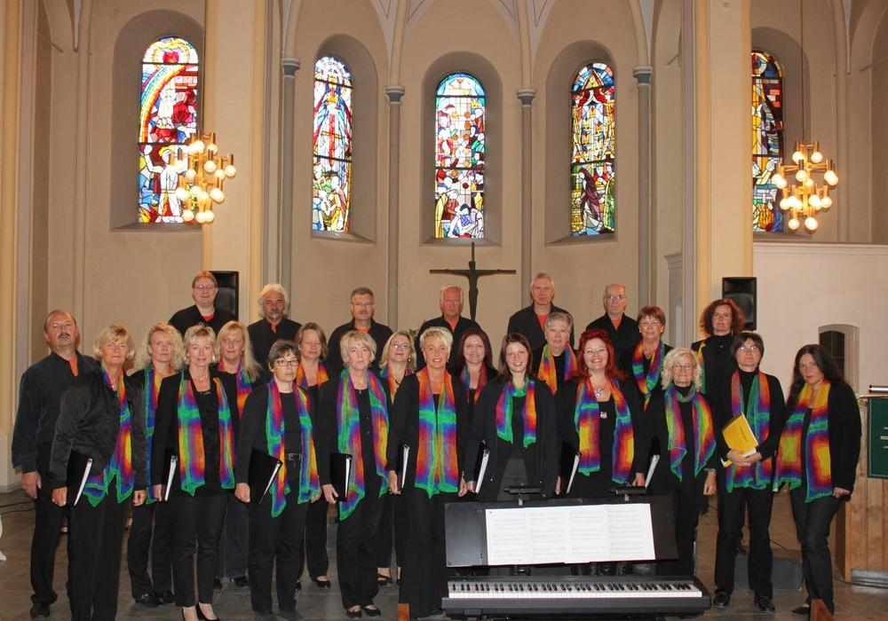 """Der Gospelchor """"Swinging Voices"""" singt für einen guten Zweck. Foto: Förderverein Zille e.V."""