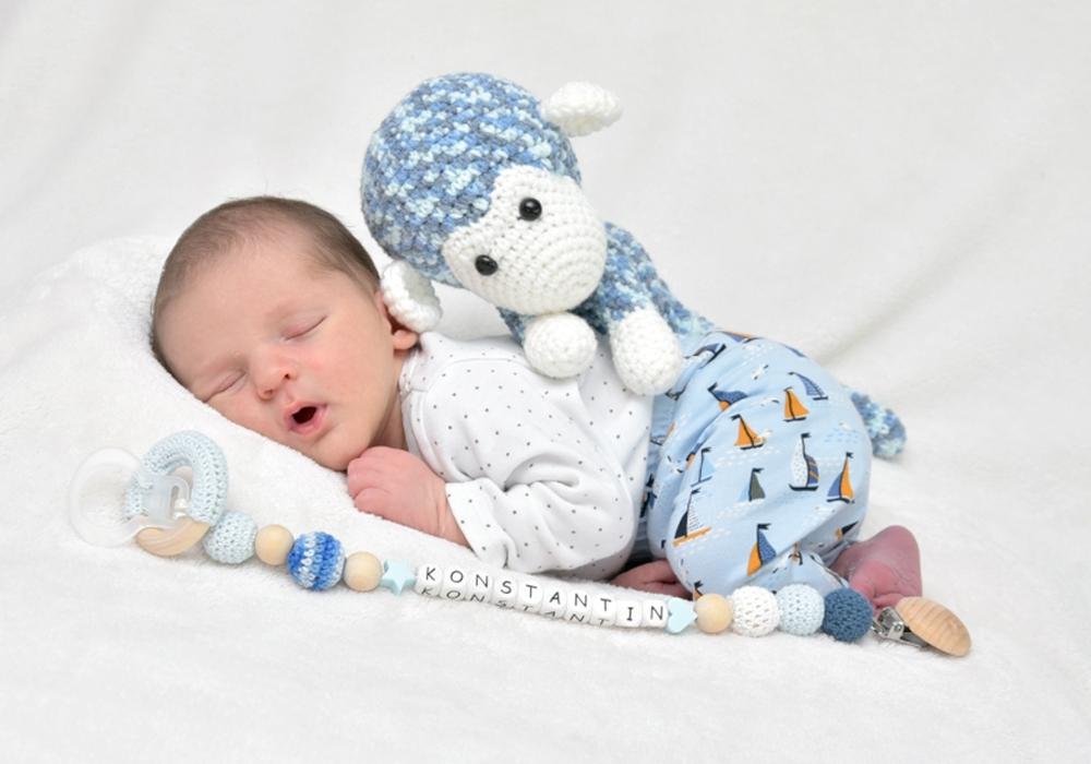 Willkommen, Konstantin Martin. Foto: babysmile24.de