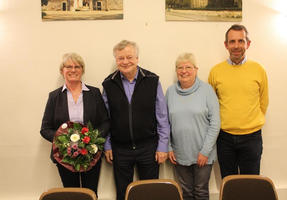 Der neue Vorstand von links: Ulrike Jungkurth, Jürgen Lingelbach, Anni Puttkammer, Ralf Eilers. Foto: Privat