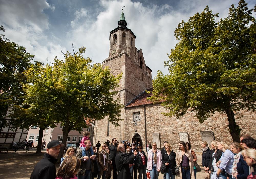 In der Magnikirche fand die erste Taufe in deutscher Sprache in Braunschweig statt. Foto: Braunschweig Stadtmarketing GmbH / Marek Kruszewski