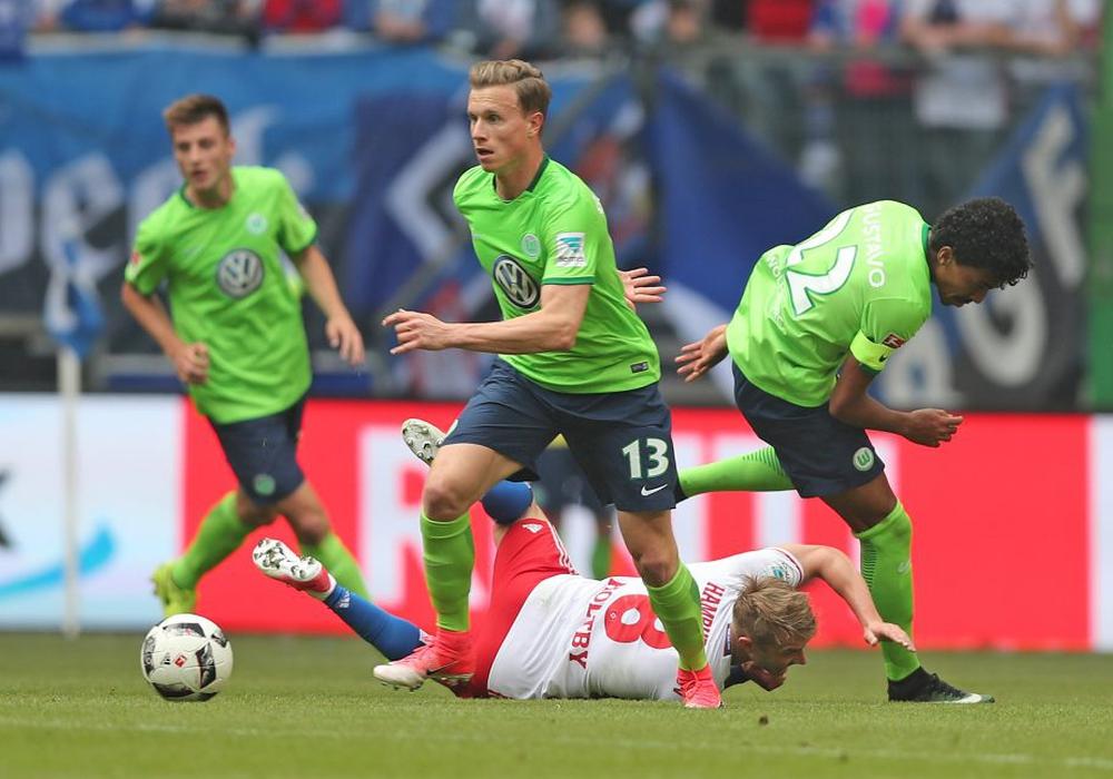 """Geht in seine 2. Saison bei den """"Wölfen"""": Yannick Gerhardt. Foto: Agentur Hübner"""