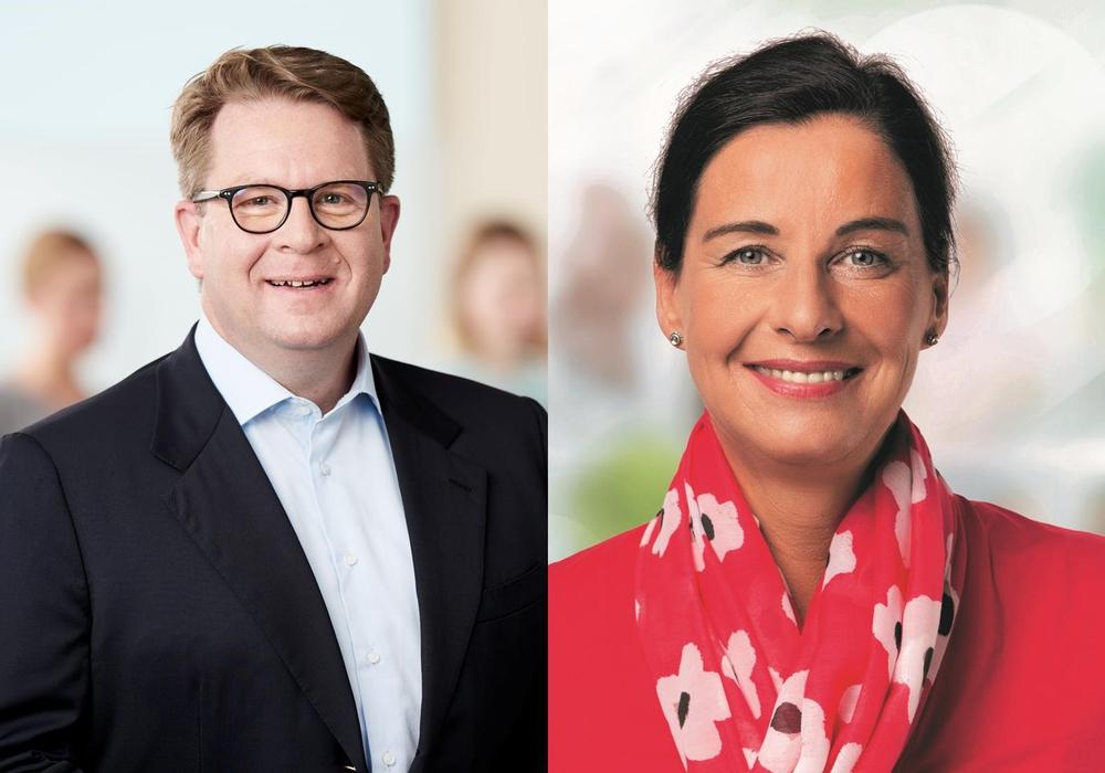 Carsten Müller MdB informierte Veronika Koch MdL über aktuelle Bereitstellung zusätzlicher Fördermittel im Bundeshaushalt. Foto: CDU