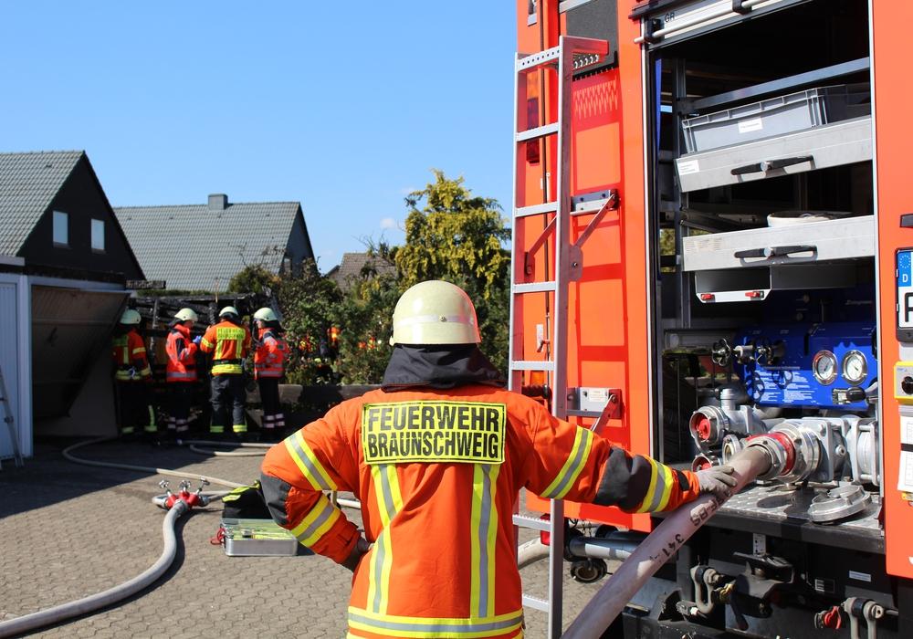 Die Feuerwehr im Einsatz. Übergriffe kommen nur selten vor. Foto: Archiv/Jan Borner