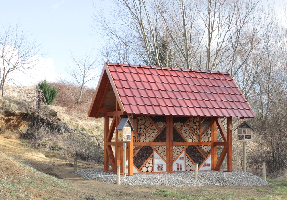 Die Aufstellung von Insektenhotels ist eine der geplanten Maßnahmen. Symbolfoto: Anke Donner