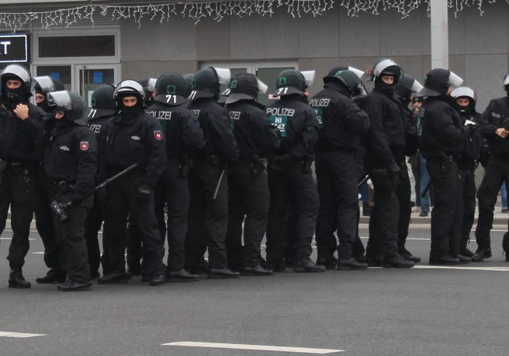 Die Polizei musste in der Innenstadt häufiger eingreifen. Foto: Janosch Lübke