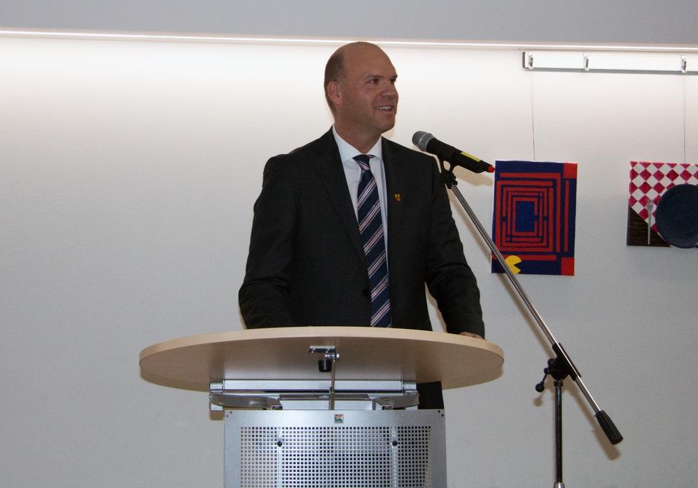 Martin Mahnkopf stellte in seiner Rede den Ertrag der Fusion und den gesellschaftlichen Zusammenhalt heraus. Foto: Nino Milizia