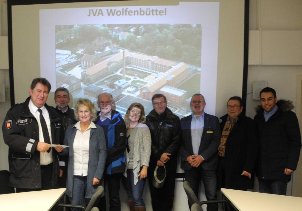 Der CDU-Stadtverband zu Besuch in der JVA. Foto: CDU
