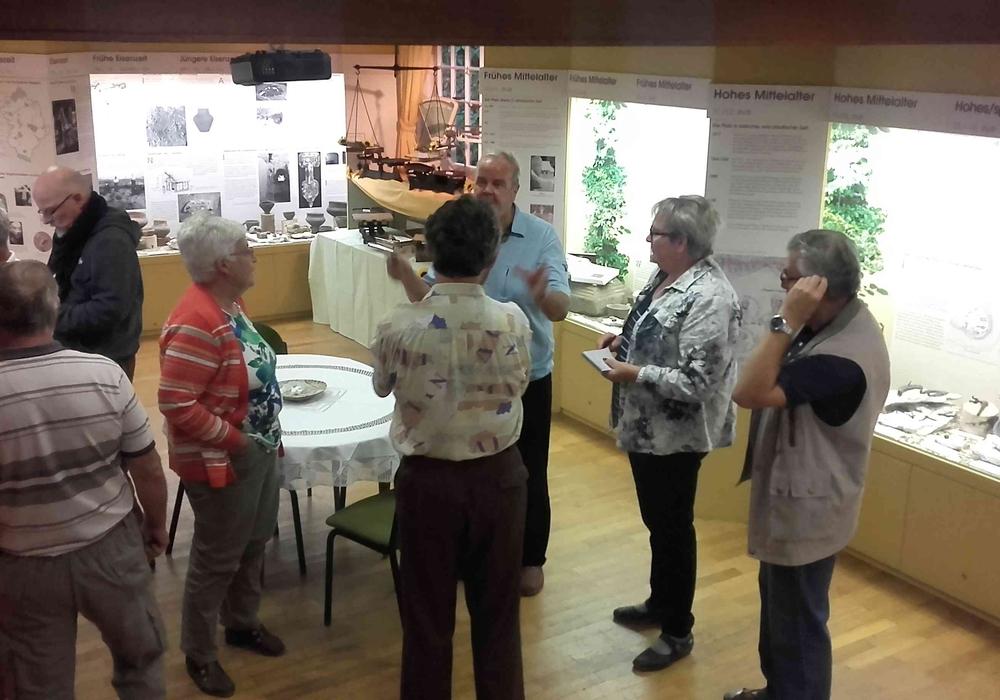 Der Waagenbaumeister-erzählte den Besuchern aus seinem Leben, Foto: privat