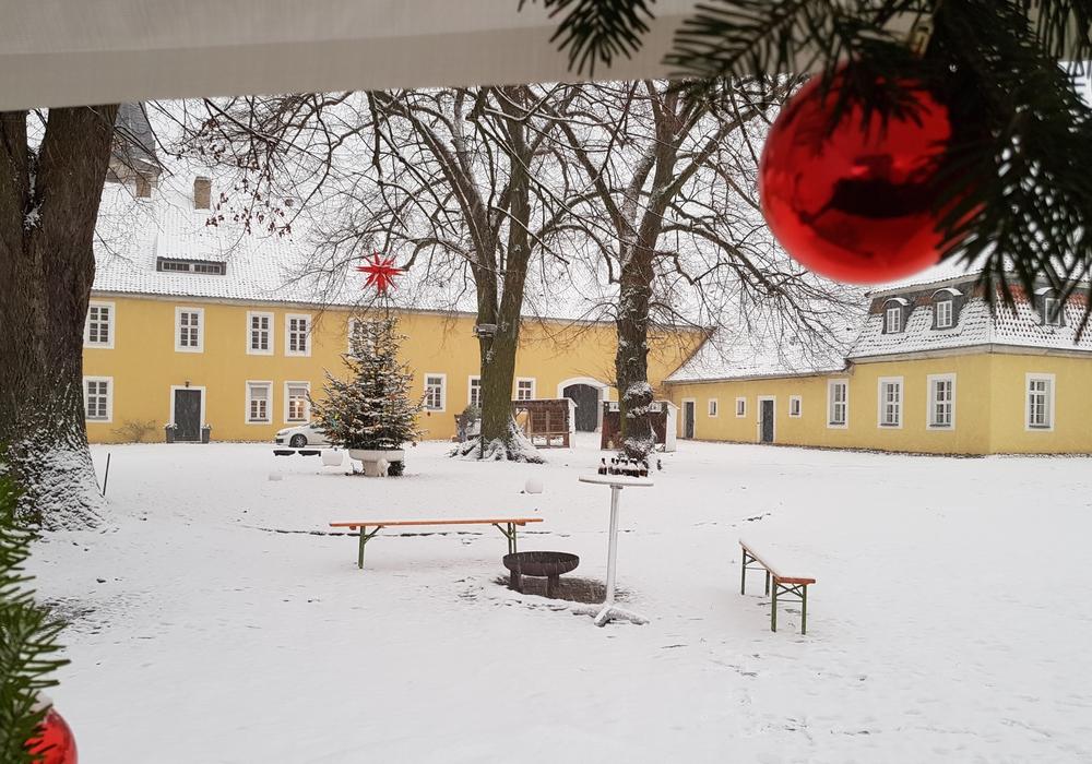 Destedt freut sich auf ein winterliches Weihnachtsfest. Foto: Matthias Böhnig