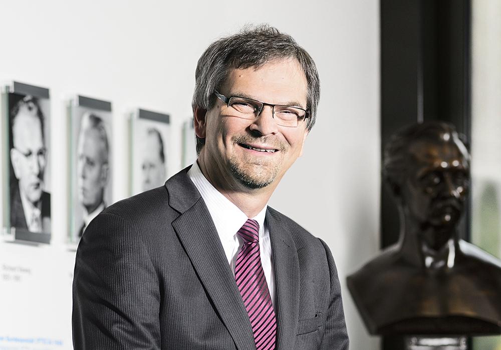 Dr. Roman Schwartz, Vizepräsident der PTB und frisch gekürter Präsident der OIML. Foto: Physikalisch-Technische Bundesanstalt