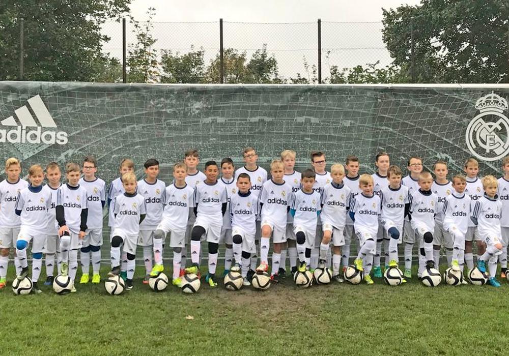 Fünf Tage weilte die Fußballschule von Real Madrid auf dem Bötschenberg. Foto: privat/Verein
