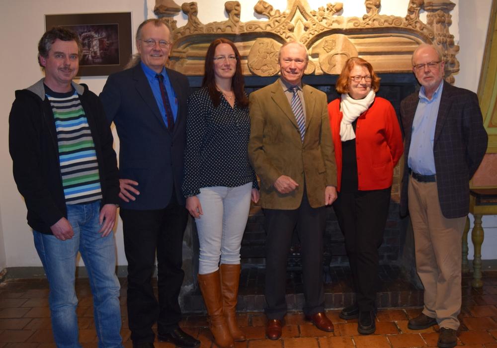 Thomas Velte (von links), Axel Dietsch, Katja Foltan, Dieter Freesemann, Dagmar Grasemann und Uwe Henrich gehören dem Arbeitskreis Kultur an. Foto: Stadt Goslar
