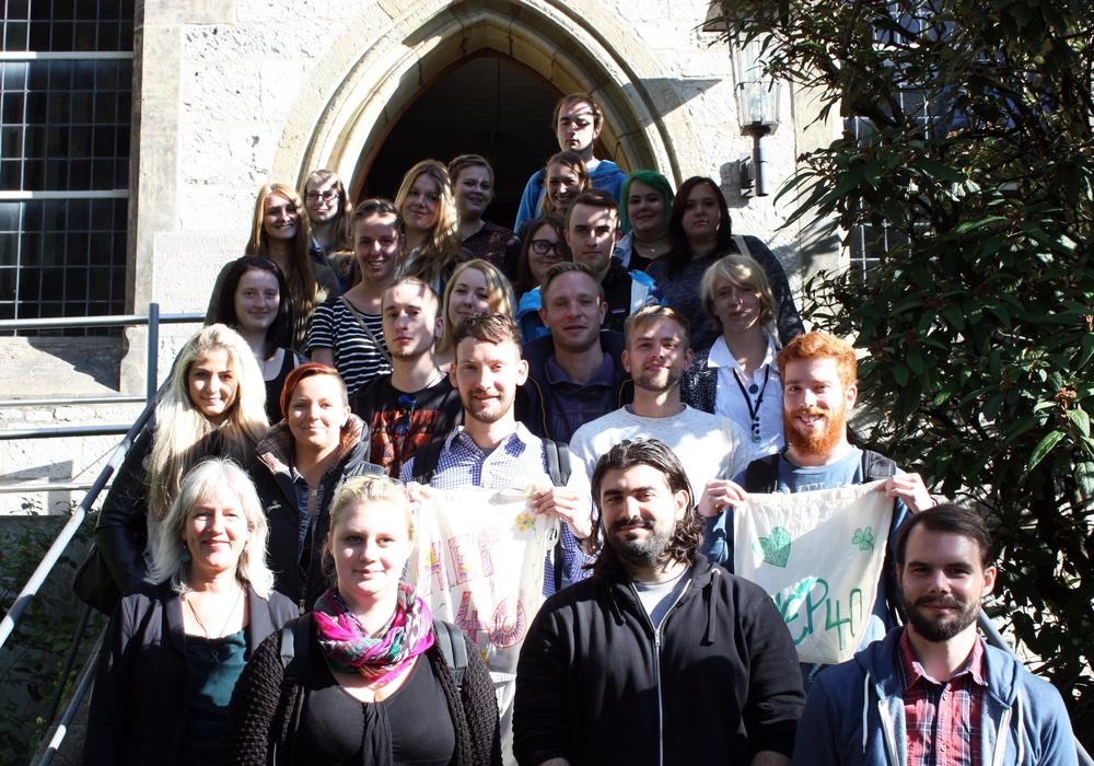Die Fachschule für Heilerziehungspflege begrüßte die 25 neuen Auszubildenden. Foto: Privat