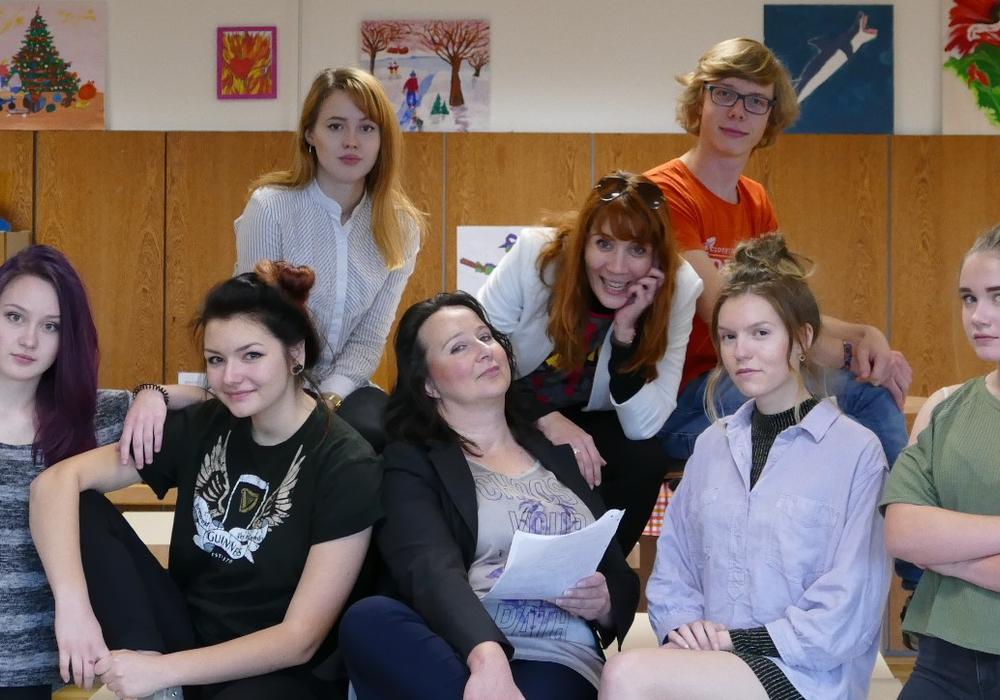 Die Theatergruppe Sexismus. Foto: Landkreis Gifhorn