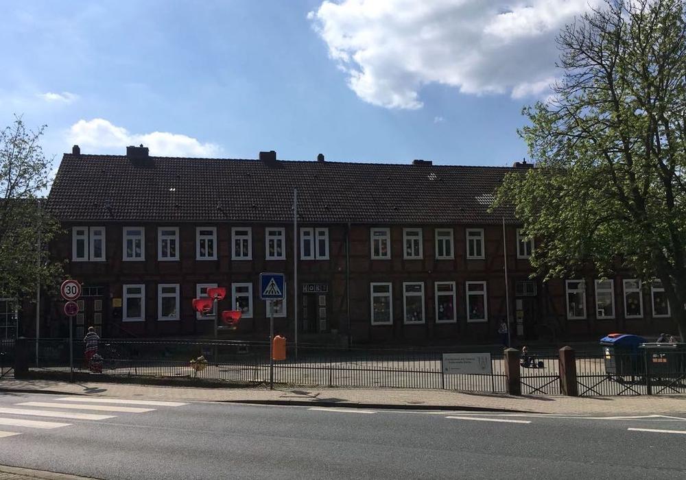 In der Grundschule Salder soll die ehemalige Schulhausmeisterwohnung zum Hort umgebaut werden. Foto: Alexander Dontscheff