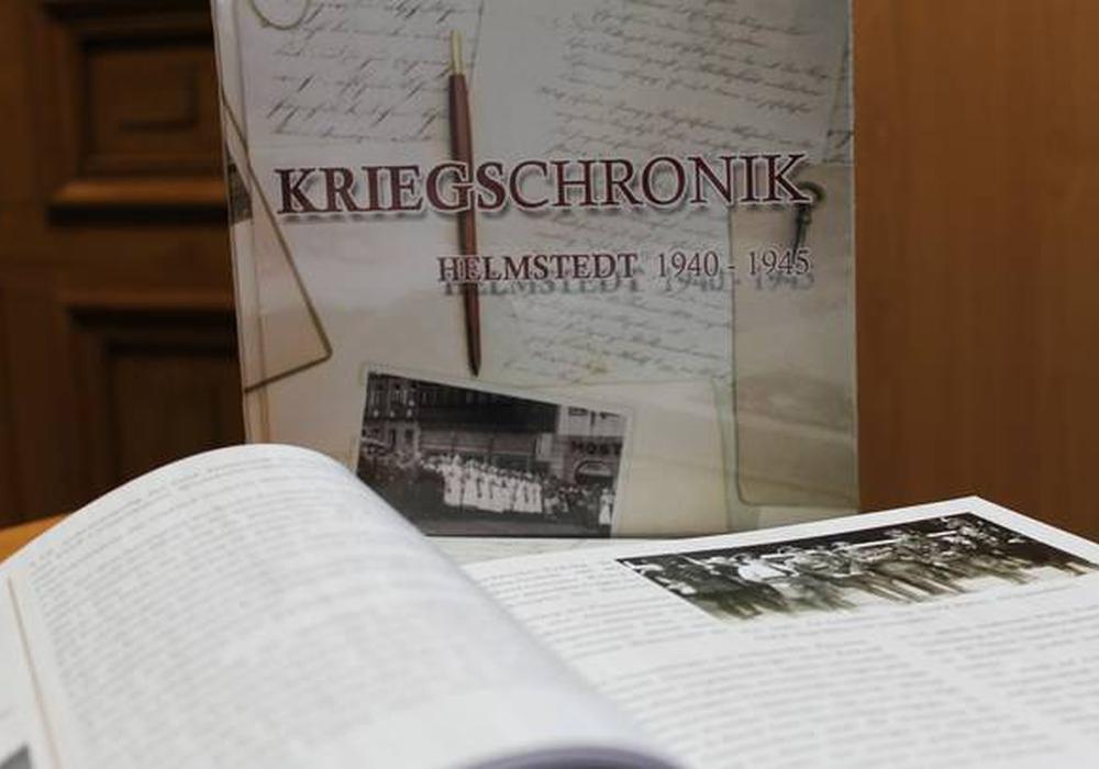 In mühevoller Arbeit wurde die Kriegschronik zusammengestellt. Foto: Stadt Helmstedt