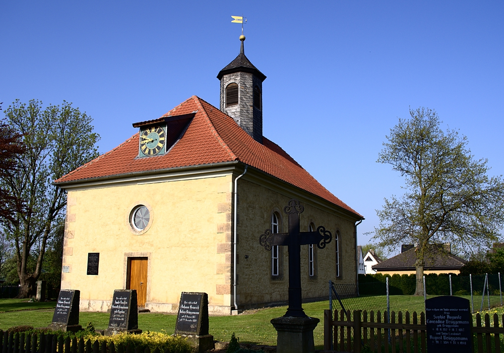 Die Michaeliskirche in Drütte. Foto: Pfarrverband Johannes der Täufer