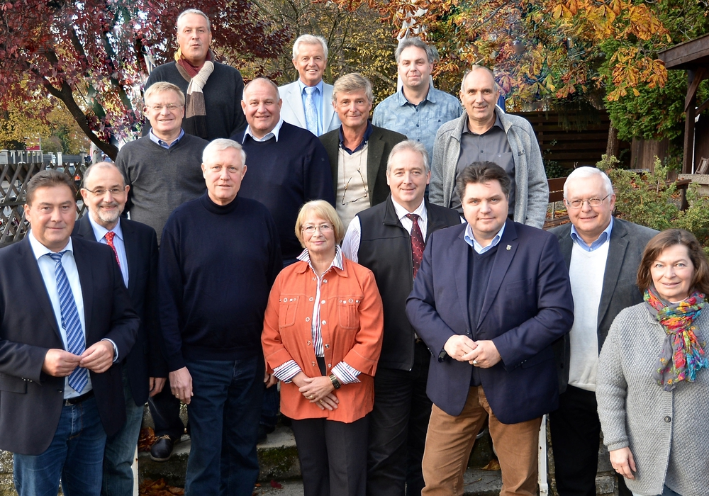 Die CDU-Kreistagsfraktion mit dem Fraktionsvorsitzenden Uwe Lagosky (links). Foto: CDU