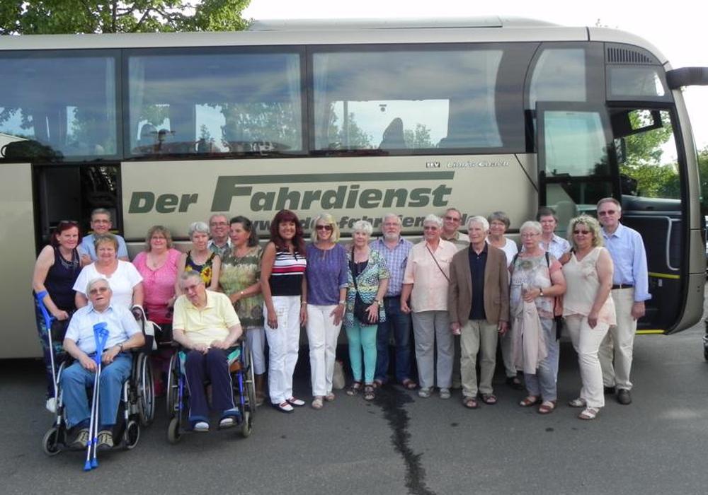 Die Reise startete am Jugendgästehaus. Foto: MS-Selbsthilfegruppe Wolfenbüttel