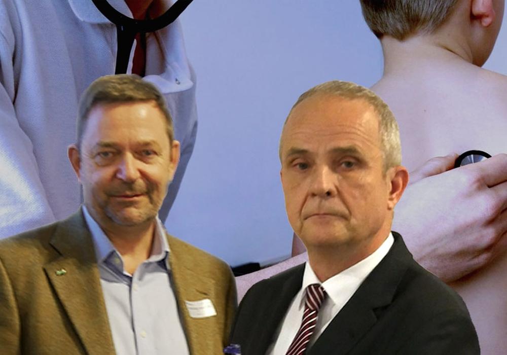 Dr. Torsten Kleinschmidt und Thomas Brych Foto: Alexander Panknin; pixabay