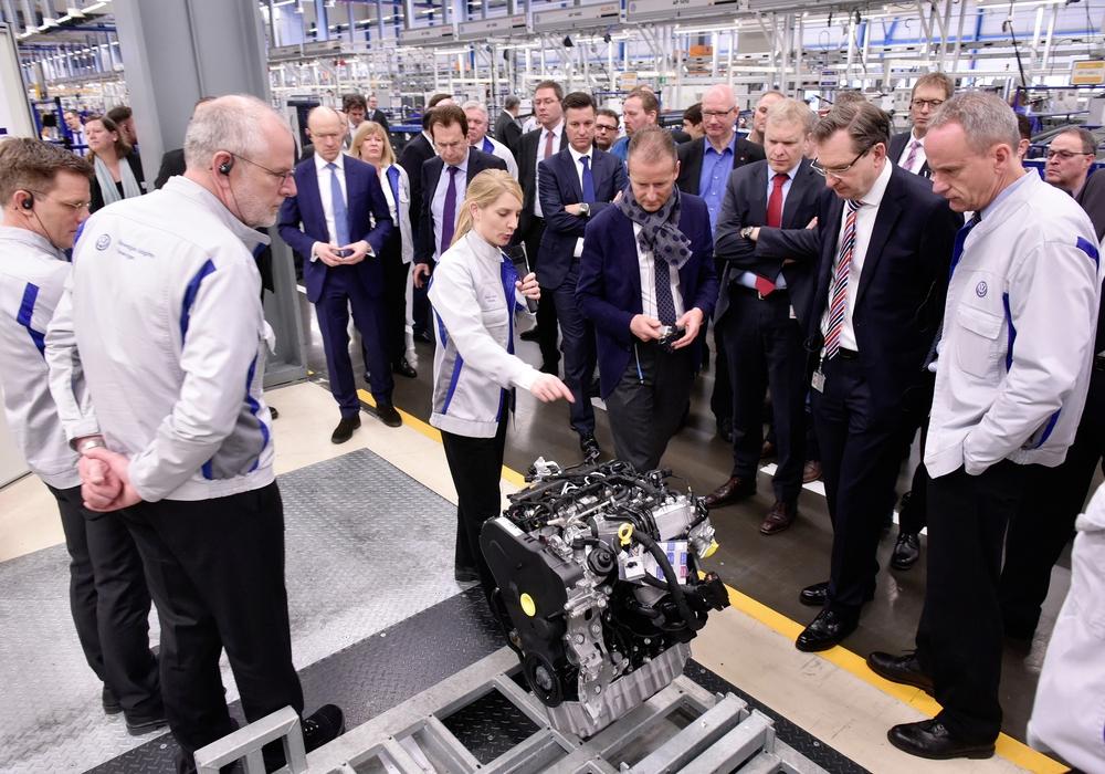 Standortsymposium Volkswagen Salzgitter: Komponenten für den Antrieb der Zukunft. Foto: VW