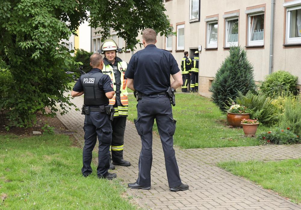 Die Feuerwehr konnte schnell wieder abrücken, weil weder Feuer noch Rauch zu verzeichnen war. Foto: Rudolf Karliczek