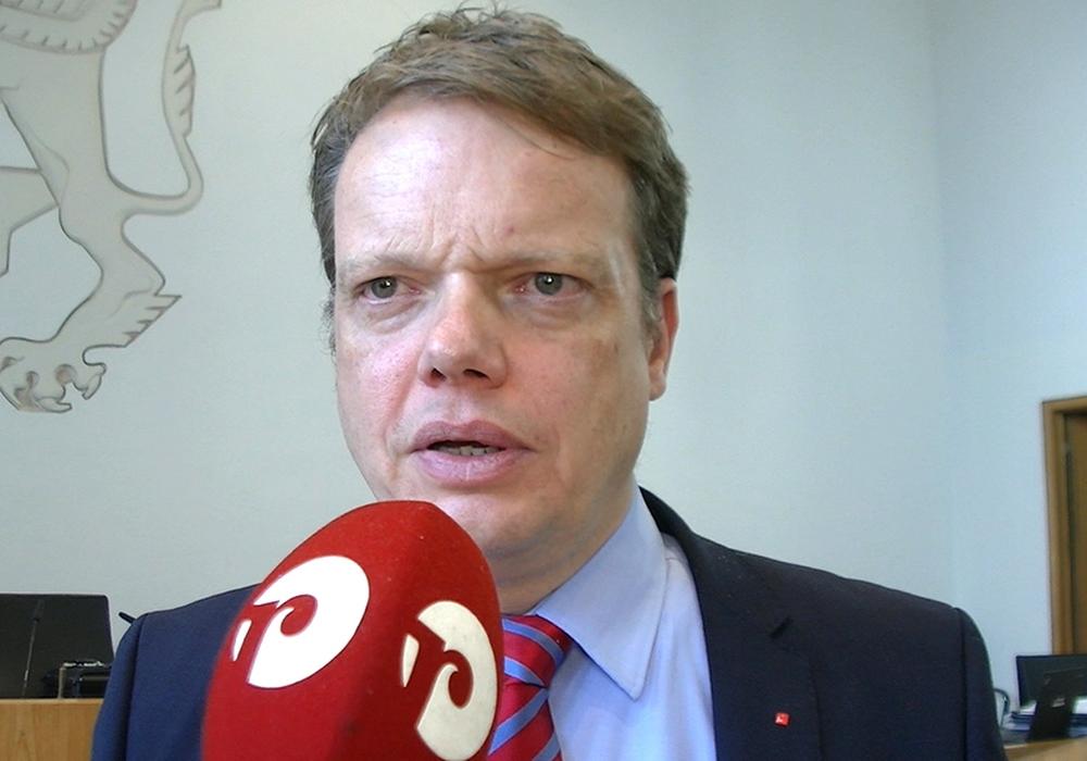 Christoph Bratmann, Vorsitzender und schulpolitischer Sprecher der SPD-Ratsfraktion. Foto: André Ehlers
