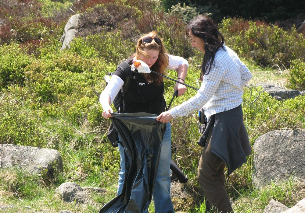 Geocacher unterstützen Nationalpark Harz mit Müllsammelaktion. Das  CITO-Event startet zum 13. Mal an Walpurgis ab 11 Uhr am Nationalpark-Besucherzentrum TorfHausFoto: Markus Gründel